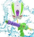 Disney Toy Story Buzz Lightyear Wasser Blaster Rucksack | Tragbare...