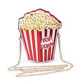 LUI SUI Mädchen PU Leder Geldbörse Cupcake EIS Popcorn süße Milch...