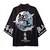 B/N TriLance Herren Japanischen Kimono, Herren Kimono Cardiqan...