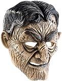 infactory Halloweenmaske: Zombiemaske aus Latex-Gummi mit beweglichem...
