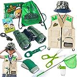 Draussen Forscherset & Bug Catcher Kit mit Kinder Weste, Fernglas,...