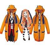 Luminous1128 Anime Kakegurui Cosplay Runa Yomozuki Cosplay Hoodie...