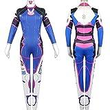 better daily life DVA Cosplay Kostüm, D.Va Hana Song Blauer Bodysuit...