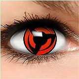 Sharingan Kontaktlinsen Hatake Kakashi in rot inkl. Behälter - Top...
