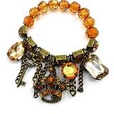 Les Trésors De Lily [J6924] - 'french touch' bracelet 'Scarlett'...