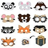Mizijia Tiermasken,Spielzeug Masken, Filz Masken, Kindermasken,...