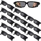 12 Stücke Agent Brille Rückansicht Brille Lustige Kostüm Brille...