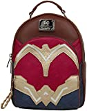 Wonder Woman Loungefly - Kostüm Frauen Mini-Rucksack rot/gelb/blau