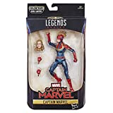 Marvel Captain Marvel Legends Captain Marvel in Kostüm-Figur, 15 cm