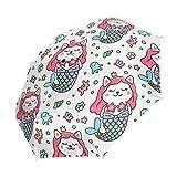 Emoya-Regenschirm 8 Rippen, automatisches Öffnen/Schließen,...