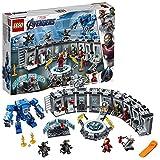 LEGO 76125 Super Heroes Marvel Avengers Iron Mans Werkstatt, Set mit 6...