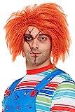 Smiffys 61022 Offiziell lizenzierte Chucky-Perücke, Unisex...