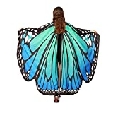 Damen Schmetterling Kostüm Faschingkostüme Schmetterling Schal...