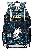 Anime Rucksack Schultasche, Cosplay Bookbag College Bag, My Hero...