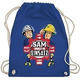Shirtracer Feuerwehrmann Sam Tasche - Sam - Immer im Einsatz - rot -...