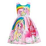 Lito Angels Einhorn Kleid Kostüm für Kinder Mädchen, Little Pony...