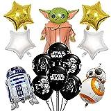 HONGECB Star Ballons Wars Geburtstag Dekoration Set, StarWars...