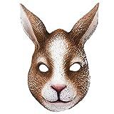 SOIMISS Ostern Dekorative Maske Maskerade Kaninchen Maske Hasenmaske...