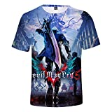 YJXDBABY-Devil May Cry-Unisex Kinderkleidung T-Shirt Sommer Casual 3D...