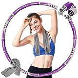 Hula Hoop Reifen Erwachsene, Abnehmbarer Fitness Hula Hoop, Gewichten...