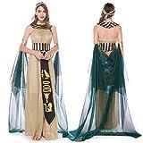 Damen Halloween-Cosplay-Kleid, mittelalterlich, Vintage, ägyptische...