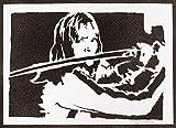 Kill Bill Poster Beatrix Kiddo Plakat Handmade Graffiti Street Art -...
