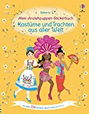 Mein Anziehpuppen-Stickerbuch: Kostüme und Trachten aus aller Welt:...