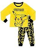 Pokemon Jungen Schlafanzug Pikachu, Mehrfarbig, 128...