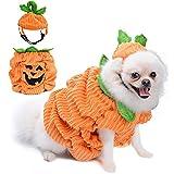 Legendog Hunde Halloween Kostüm,Halloween Haustier Hund Kürbis...