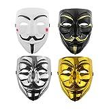 Udekit Hacker Maske V Für Vendetta Maske Für Kinder Frauen Männer...