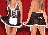 Frauen Sexy Dessous Maid Sexy Kostüm Cosplay Schürze Uniform