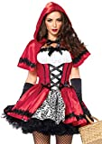 LEG AVENUE 85230 - 2Tl. Kostüm Set Gothic Riding Hood, Kostüm Damen...