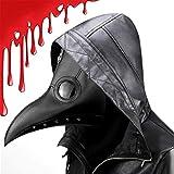 CompraFun Schnabelmaske, Vogelmasken Plague Doctor Masken Steampunk...