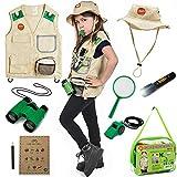 Born Toys Garten-Safari Weste und Kostüm mit Entdecker - Set für...