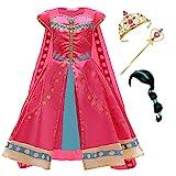 Kosplay Mädchen Prinzessin Jasmin Kostüm Kinder Aladdin Kostüm mit...