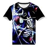 WANHONGYUE Overlord Anime T-Shirt Cosplay Kostüm 3D Druck Sommer...