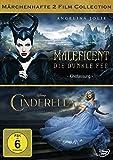 Maleficent - Die dunkle Fee / Cinderella (2 Disc Collection) [2 DVDs]