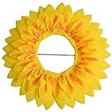 Sonnenblume Kopfbedeckung,lustige Leistung Requisiten Hut für Dance...