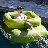N\C Aufblasbarer Pool Spielzeug, Pool Aufblasbare Tank Hängematte...