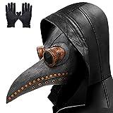 Pest Doktor Maske, lange Nase Vogel Schnabel Steampunk Halloween...