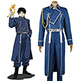 Anime FullMetal Alchemist Roy Mustang Maes Cosplay Kostüm Outfits...