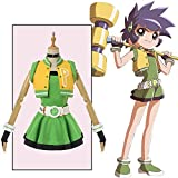 SSRSHDZW Erwachsene Maskerade Powerpuff Girl Cos Suit Matsubara...