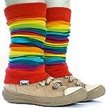 divata Stulpen für Babys und Kinder (Regenbogen) - Kinderstulpen,...