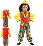 KarnevalsTeufel Anzug Clowni 2-TLG. bestehend aus Oberteil im...
