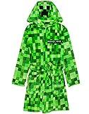 Minecraft Dressing Gown Pixelated Creeper Gamer Geschenk Jungen...