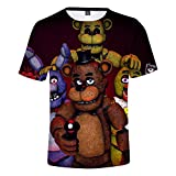 Five Nights at Freddy's Bär T-Shirts Cosplay Kostüm lustige 3D...
