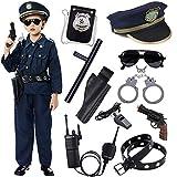 Polizei Kostüm Kinder mit Polizei Ausrüstung Polizei Hemd Hosen...