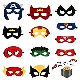 Mizijia Masken,Superhelden Masken, Charakter Masken, Filz Masken,...