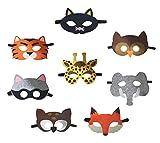 Petitebelle Masken mit Tiermotiv, für Kinder ab 2Jahren, zum...