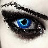 Eis-blaue farbige Elfen Kontaktlinsen für Halloween Karneval Weißer...